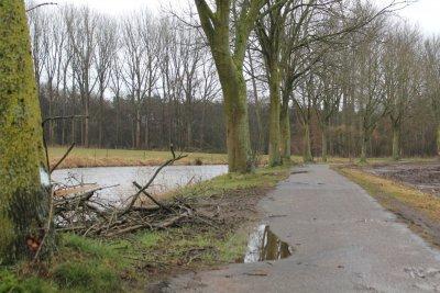 Heraanleg fietspad langs de Mark begint op 8 maart