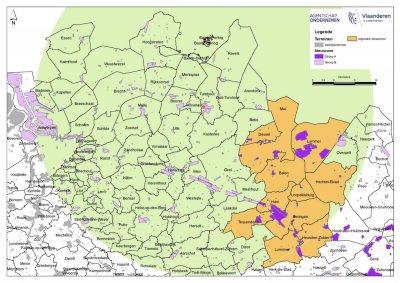 Vlaanderen aan zet voor erkenning Turnhout als steunzone