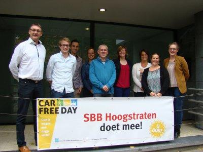 Car Free Day is een succes in Hoogstraten