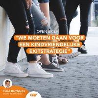 Vlaamse volksvertegenwoordigers roepen regering op tot kindvriendelijke exitstrategie