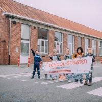 Hoogstraten test fietsstraat en schoolstraat uit