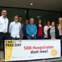 Car Free Day is een succes in Hoogstraten