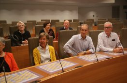 Bezoek 'De Petjes' in Vlaams Parlement