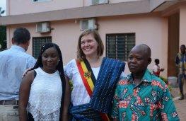 Za-kpota bezoek Tinne Rombouts