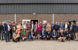 Tinne Rombouts werkbezoek commissie landbouw Fedagrim