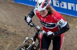 Druivencross Overijse Tinne Rombouts in actie