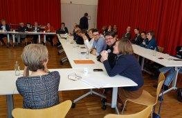 Werkbezoek commissie Cultuur De Warande Turnhout - november 2016