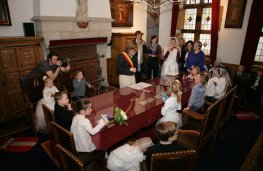 Kleuterhuwelijken 'De Scharrel'