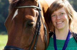 Tinne Rombouts paardenliefhebster