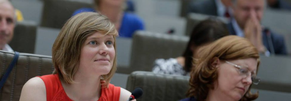 Tinne Rombouts Vlaams Parlement