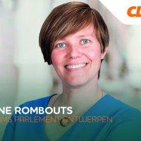 Tinne Rombouts, plaats 2 provincie Antwerpen