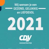 CD&V Hoogstraten wenst iedereen een gelukkig nieuwjaar