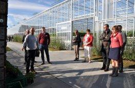 Tinne Rombouts op de Dag van de Landbouw in Hoogstraten