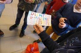 Scharrel Minderhout opening kinderrechtenkermis Tinne Rombouts