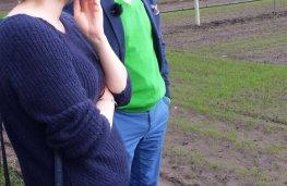 Servais Verherstraeten samen met Tinne Rombouts op pad in Hoogstraten